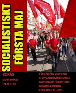 1 maj Borås